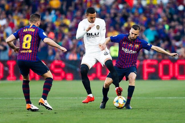 Esp : Valence prive le Barça et Messi de Coupe du Roi !