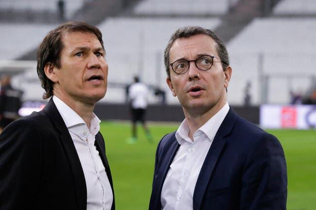 OM: Eyraud surclasse la Ligue 1, c'est Garcia qui le dit
