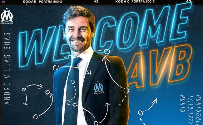 Officiel : André Villas-Boas signe 2 ans à Marseille !
