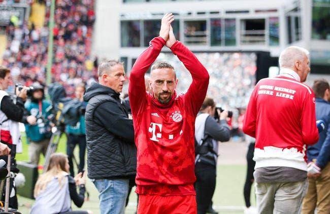International : Ribéry n'exclut pas un retour à l'OM