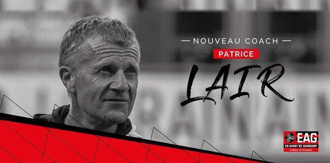 L2 : Patrice Lair nommé entraîneur de Guingamp