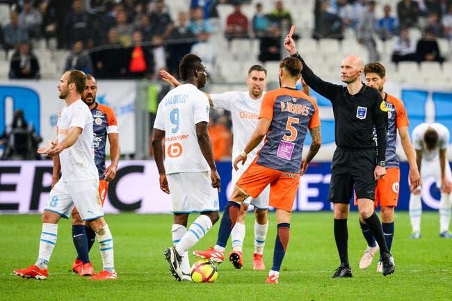 OM : Mario Balotelli suspendu quatre matches !