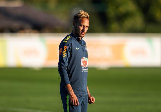 PSG : Grosse frayeur pour Neymar !