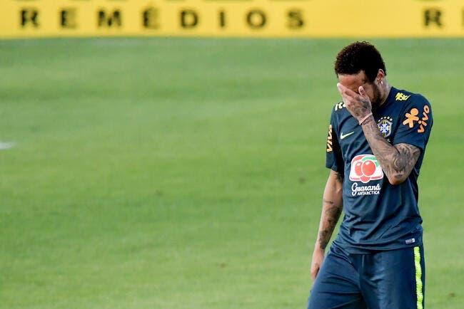 PSG: Ça n'arrive pas qu'aux autres, Neymar humilié à l'entrainement