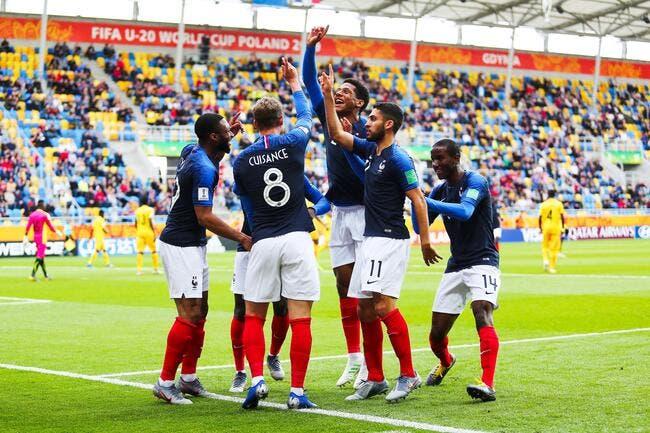 CDM U20 : La France tape le Mali, direction les huitièmes !