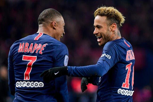 PSG: Pour le Paris SG, Mbappé ne fait pas le poids contre Neymar