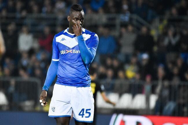 Serie A: Balotelli menace de quitter le terrain à Vérone