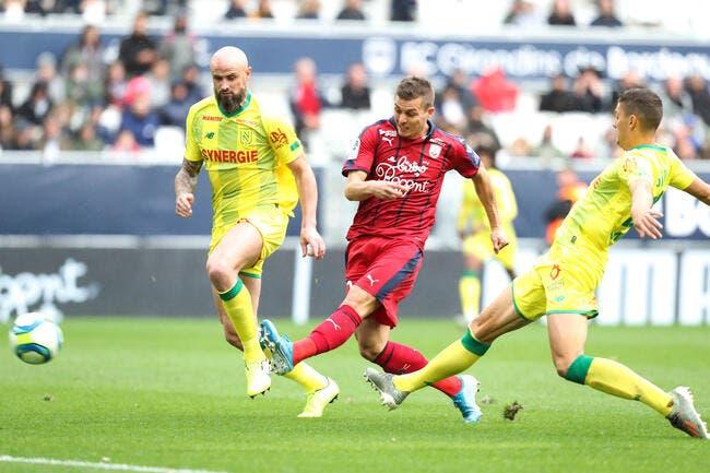 L1 : 2-0, Bordeaux bat Nantes mais perd deux joueurs !