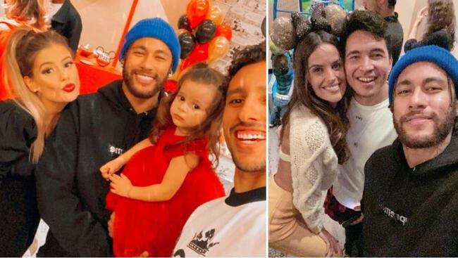 PSG : Neymar et Mbappé font une fête sans polémique