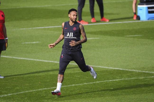 PSG : Neymar a repris le boulot sans problème