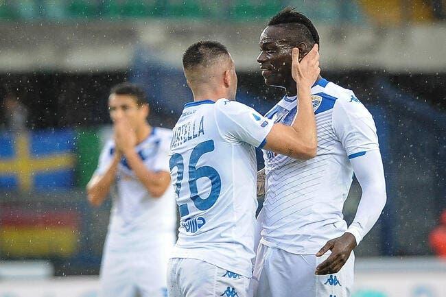 Racisme : Balotelli insulté, le Hellas Vérone frappe fort !