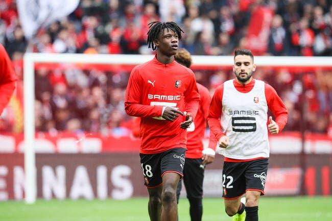 Rennes : Marseillaise pour Camavinga, mais c'est Niang qui fait le buzz