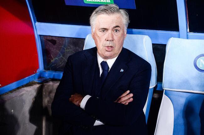 Naples : Ancelotti ne comprend pas vraiment le club sur un point
