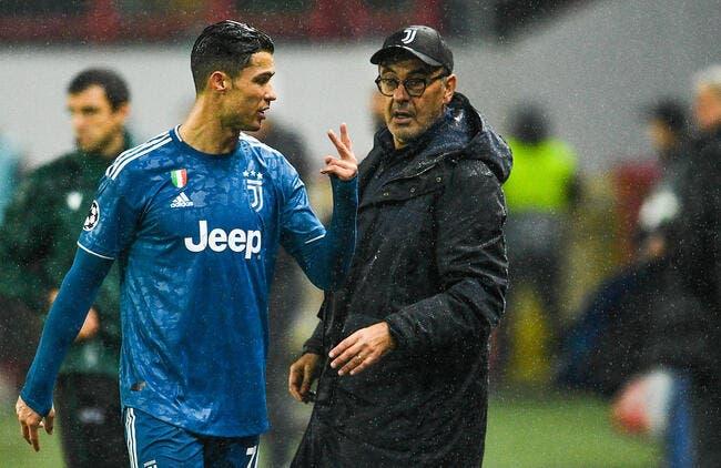 Juve: Ramsey, Sarri… Cristiano Ronaldo a quitté la pelouse en furie!