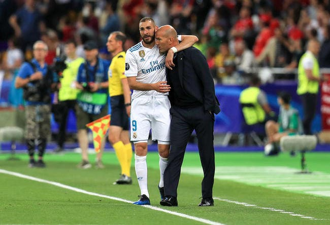 EdF: Benzema doit revenir en Bleu, Zidane a un argument en béton
