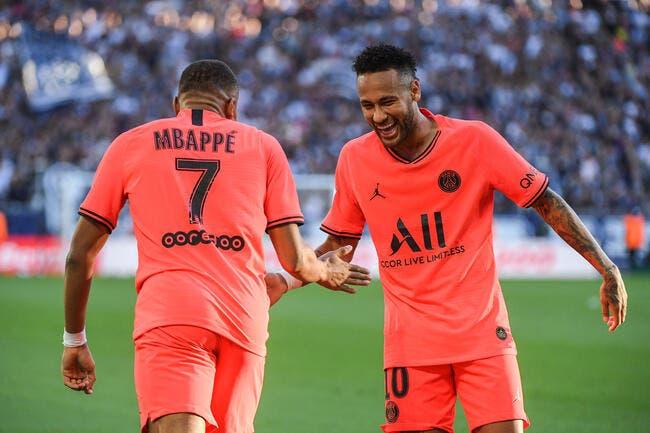 PSG : Mbappé sera traité comme Neymar au mercato !