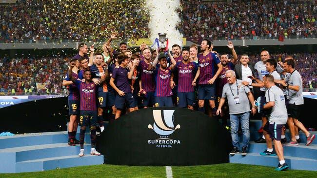 Le Barça et le Real Madrid connaissent leurs adversaires — Supercoupe d'Espagne