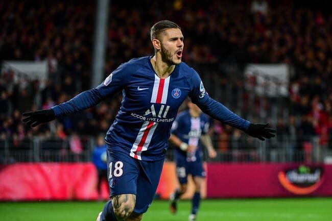 Icardi est en feu, Paris peut remercier Leonardo — PSG