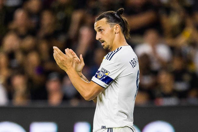 USA : Ibrahimovic officialise à la Zlatan son départ de LA