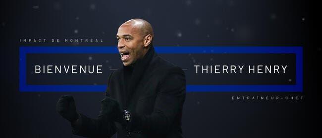 Officiel : Thierry Henry nouvel entraîneur de Montréal