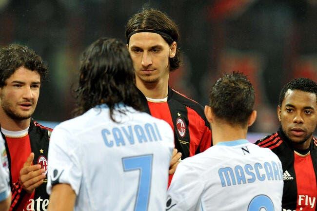 Ita : Ibrahimovic face au Vésuve, Naples entre en éruption