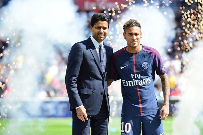 PSG : Al-Khelaïfi veut le prolonger, Neymar en mode Poker face