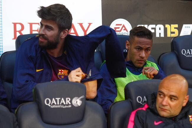 PSG : Neymar au Barça, Piqué l'attend toujours !