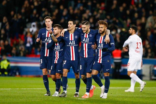 L1 : Icardi et Di Maria offrent encore une victoire au PSG contre Lille