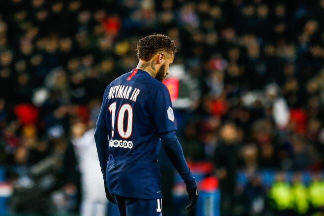 PSG : Neymar est à la rue, le constat est terrible