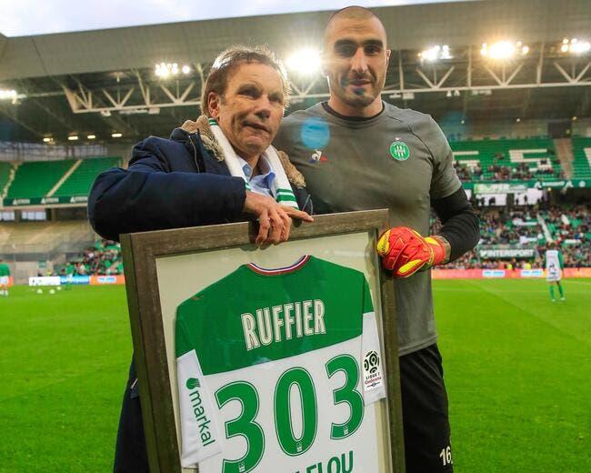 ASSE : Ruffier efface la légende Curkovic, total respect !