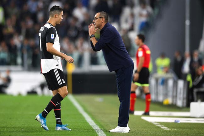 Ita : Cristiano Ronaldo fait la gueule, Sarri est foudroyant