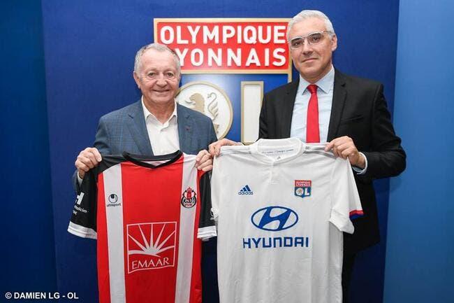 OL : Lyon débarque au Maroc et signe pour 3 ans