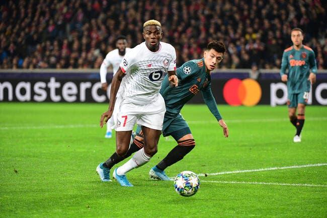 Une équipe offensive contre l'Ajax — Losc