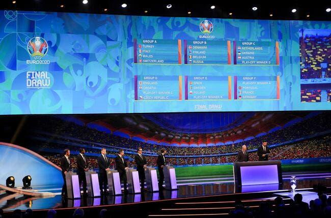 Euro 2020 : La France avec l'Allemagne et le Portugal
