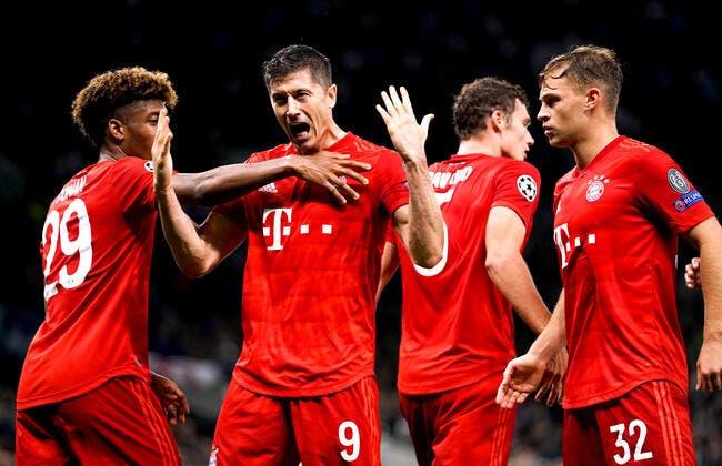 LdC : Le Bayern en colle 7 à Tottenham