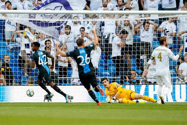 Real Madrid: Zidane vire Courtois pour mettre Areola en plein match