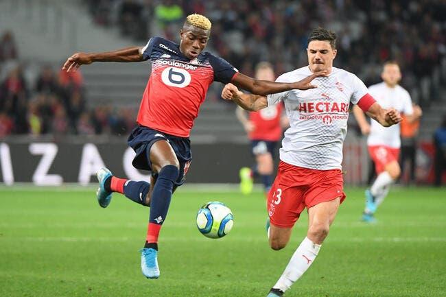 L1 : Du spectacle et des buts, Nîmes accroche Lille