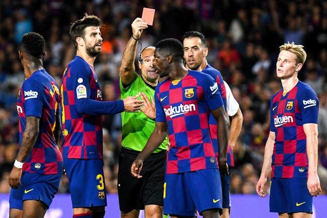 Barça: C'est officiel, la bêtise de Dembélé lui coûte cher