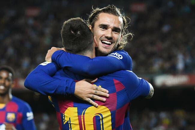 Esp : Pas de malaise, Messi est fan de Griezmann