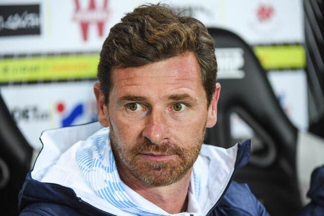 OM : Villas-Boas regarde les comptes de Marseille, il déprime