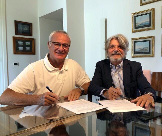 Ita : Claudio Ranieri nouvel entraîneur de la Sampdoria