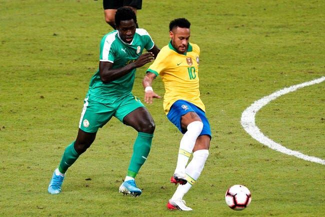 PSG : La tuile, Neymar se blesse avec le Brésil !