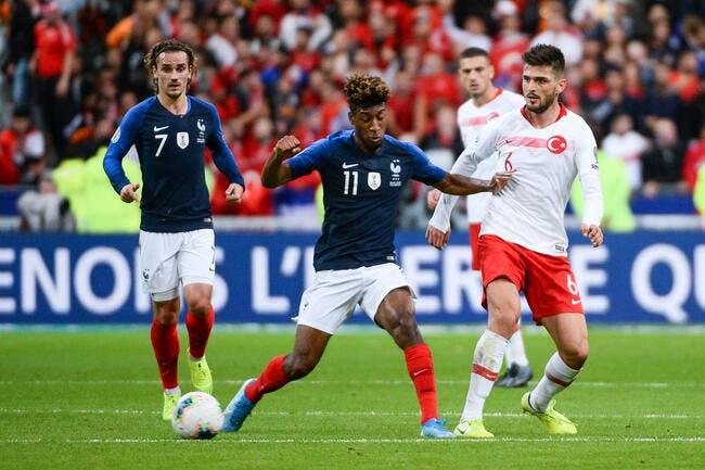 EdF : Giroud n'a pas suffi, la Turquie accroche les Bleus