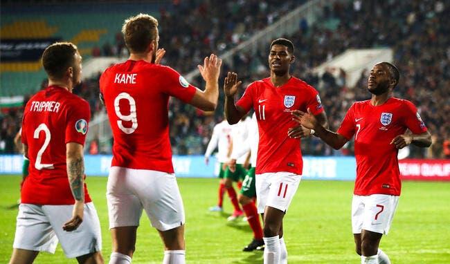 Euro 2020 : L'Angleterre colle un sanglant 6-0 à la Bulgarie