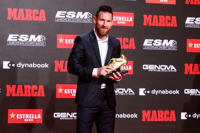 Soulier d'Or, Messi explique ce qui le démarque de Cristiano Ronaldo