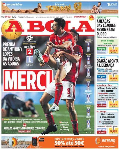 OL: Lopes est enfin apprécié au Portugal…