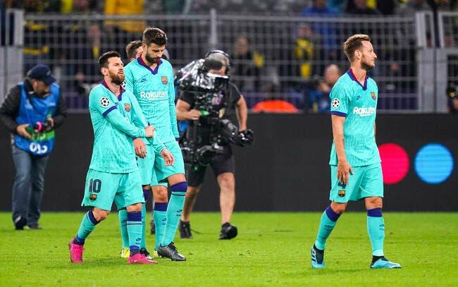 Barça: Ça a chauffé à Prague, les joueurs ont saccagé le vestiaire!