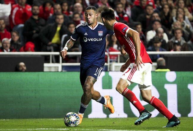 OL: Memphis Depay nouveau capitaine de Lyon