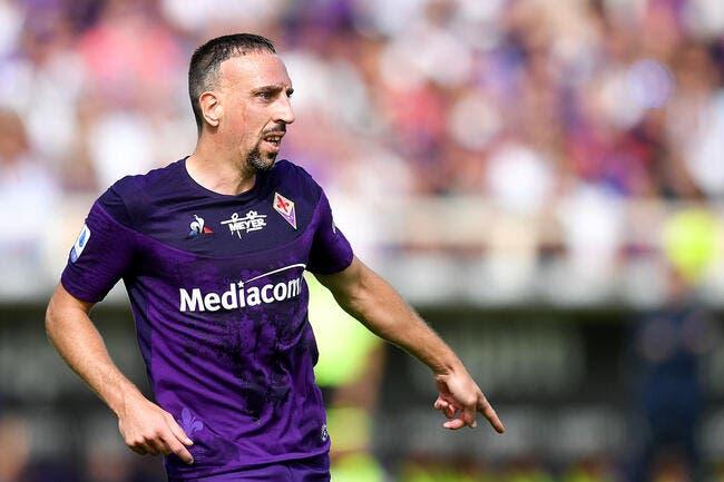 Ita : 3 matches de suspension et 20.000 euros d'amende pour Ribéry