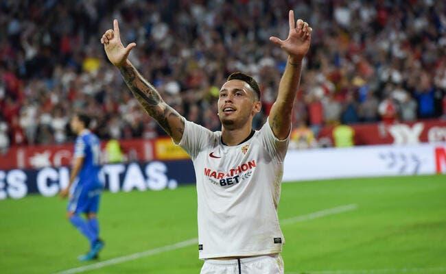 Lucas Ocampos aurait une énorme clause au FC Séville — Mercato
